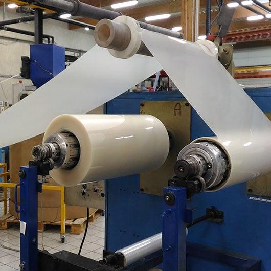 Extrusion plastique par calandrage, fabrication française