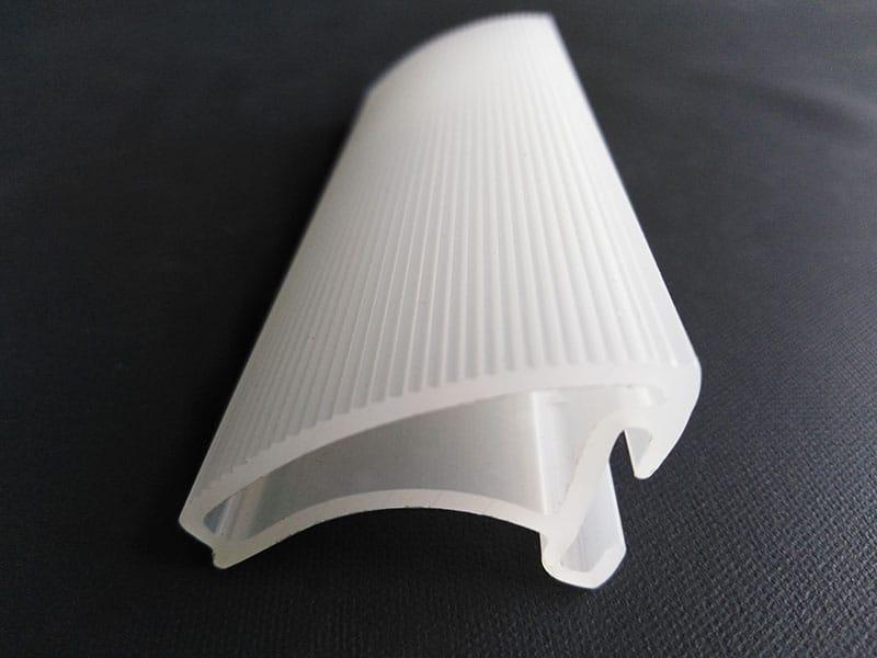 Profilé plastique monoextrudé, fabrication Watom, France